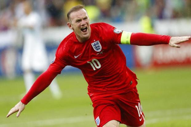 Wayne Rooney's announcement comes ahead of England's World Cup qualifiers against Malta and Slovakia next month. Photo: AP