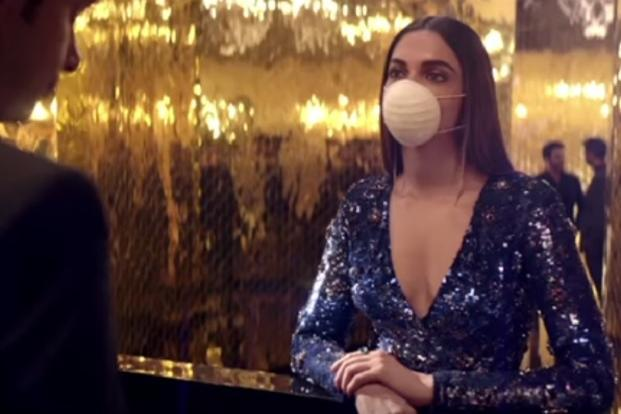 Deepika Padukone dons a mask for Asian Paints' new ad