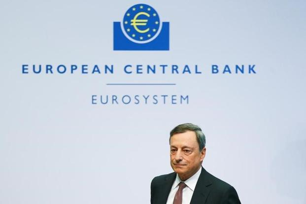 ECB president Mario Draghi defended unconventional monetary policy, though, arguing that it has succeeded in the face of extreme shocks and proved that central banks remain potent even when interest rates bottom out. Photo: Reuters