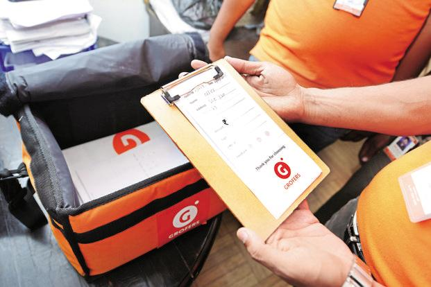 Grofers eyeing Rs80 crore monthly sales by December - Livemint