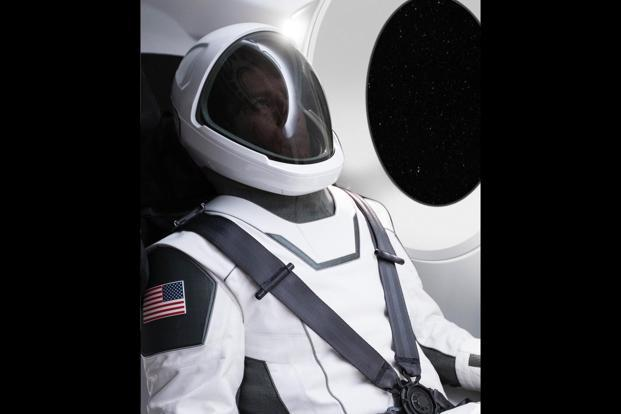 Elon Musk shows off SpaceX spacesuits