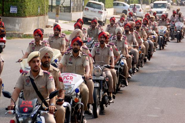All police personnel who were on leave have been recalled in preparation for Friday. A police march was also organised in Bathinda. PTI