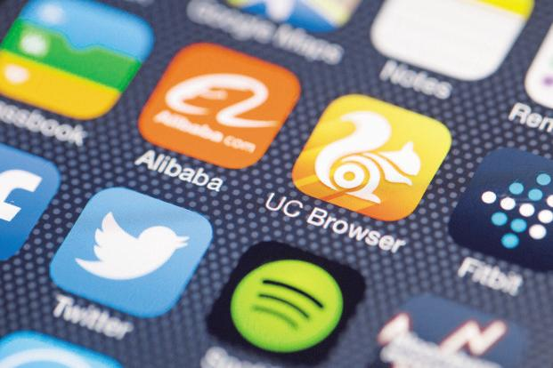 UC Browser has over 100 million monthly active users in India and claims over 50% of the mobile browser market in the country. Photo: Bloomberg