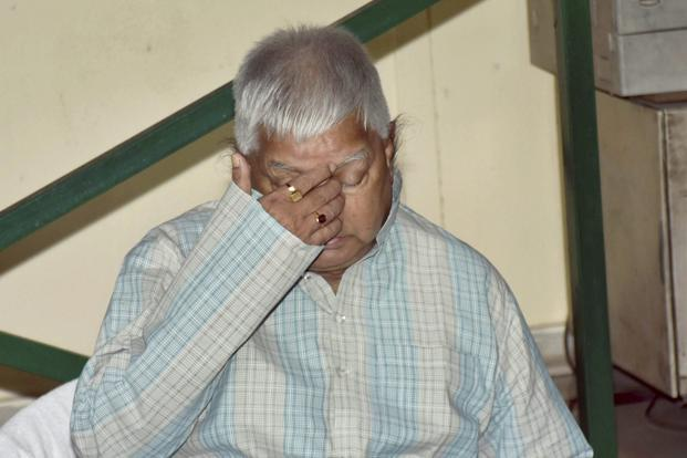 Analysts say that corruption charges against Rashtriya Janata Dal (RJD) chief Lalu Prasad are leading to his political isolation. Photo: PTI