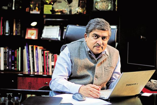New Infosys chairman Nandan Nilekani. Photo: Pradeep Gaur/Mint