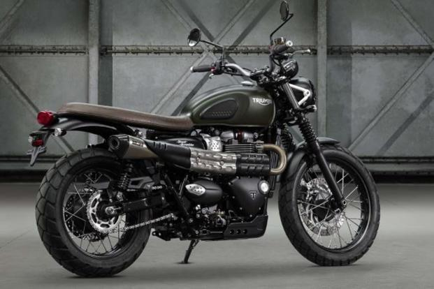 Triumph Street Scrambler launched in India