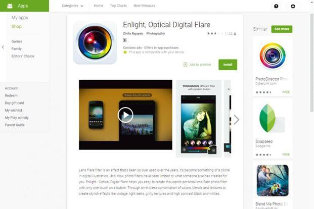 Enlight by apps developer Lightricks Ltd is one of the best photo-editors available on iOS.