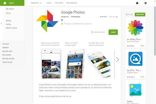 Google Photos is one of the most comprehensive photo services on mobile.