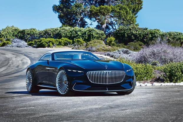 The Vision Mercedes-Maybach 6 Cabriolet is almost 20ft long. Courtesy Daimler AG-Global Communications Mercedes-Benz Cars