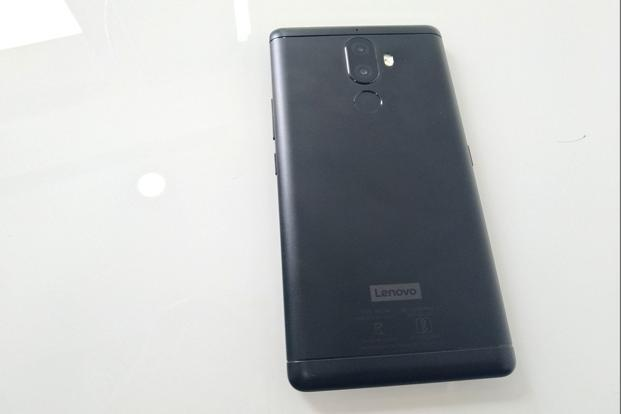 Lenovo K8 Note is a metal-clad smartphone with a matte black finish