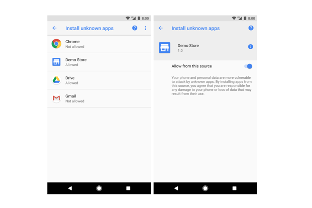 Google is trying to make sure that Android users don't end up downloading potentially risky apps even from third-party stores.