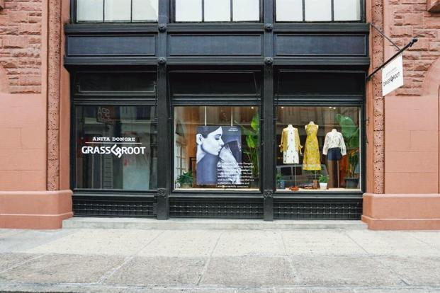 The The Grassroot store in SoHo, New York