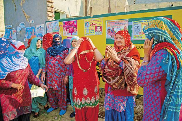 Quotas were responsible for a majority of the increase in women candidates in state legislature and parliamentary elections since the policy went into effect. Photo: Priyanka Parashar/Min