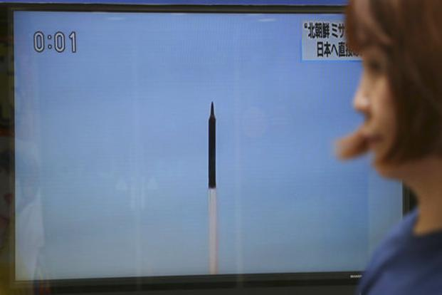 Korea fires missiles into sea in latest test