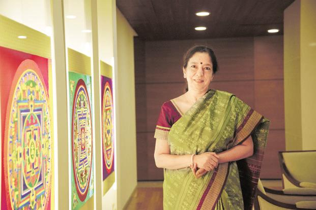 Axis Bank CEO Shikha Sharma was in July reappointed to the post for three years from June 2018. Photo: Abiruddha Chowdhury/Mint