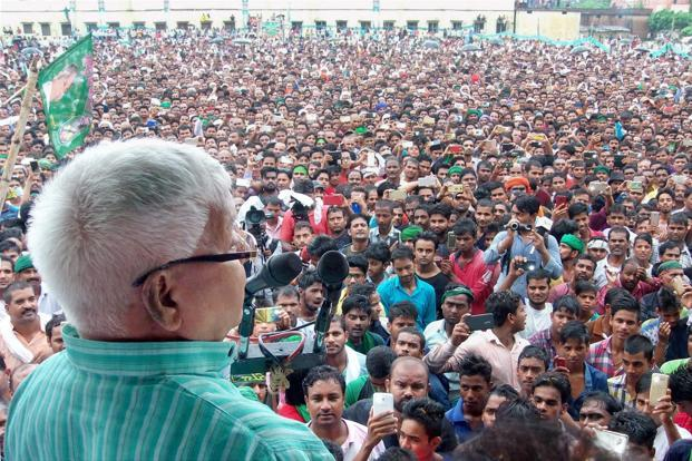RJD's 'anti-BJP' rally merely a `political circus`: BJP