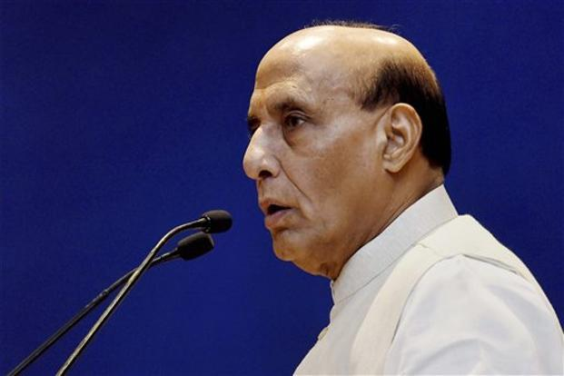 Home minister Rajnath Singh was apprised about the steps taken to maintain law and order and restore peace in affected areas