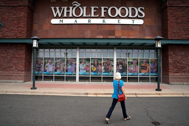 Whole Foods earned a reputation for high prices, getting the nickname Whole Paycheck. Photo: Reuters