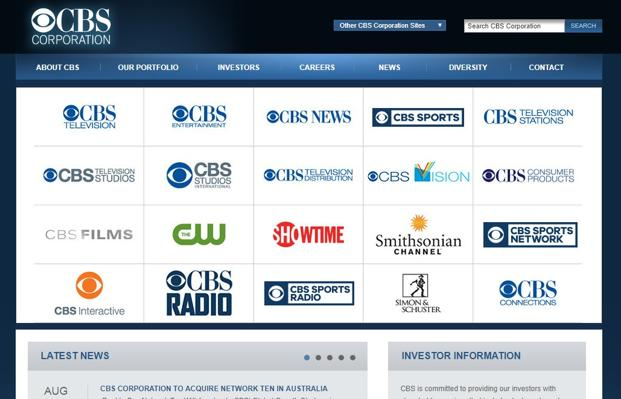 CBS Corporation to Acquire Ten