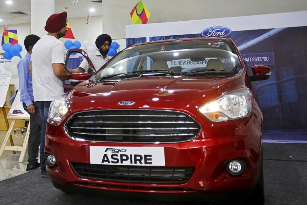 Ford India's exports during August declined 55.41% to 7,963 units compared to 17,860 in August 2016. Photo: Reuters