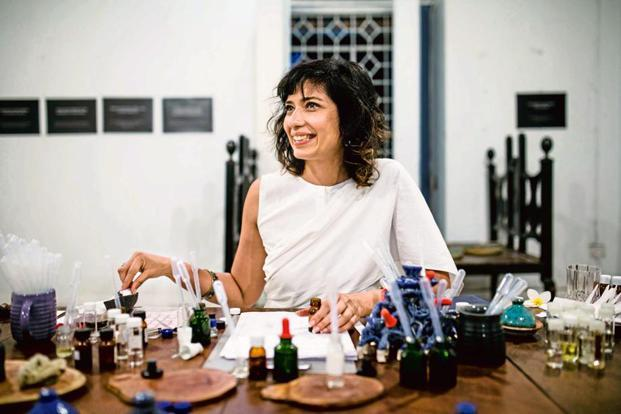Jahnvi Dameron Nandan of The Perfume Library. Photo: Sachin Soni