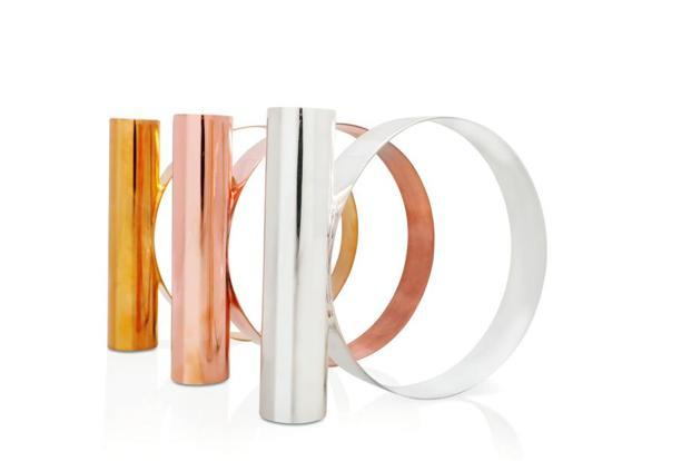 TRI COLOUR: Contemporary and neutral, a collection in hues of silver, rose gold and gold.