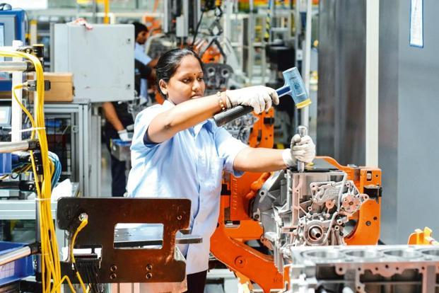 India composite PMI rebound suggests that India's economic growth rate, which unexpectedly slipped to three-year low of 5.7% in the April-June quarter from a year ago, may also improve in the current quarter. Photo: Mint