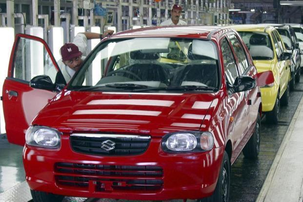 Maruti Suzuki India's (MSI) domestic sales stood at 1,52,000 units, up 26.7% from 1,19,931 units in August last year. Photo: Bloomberg
