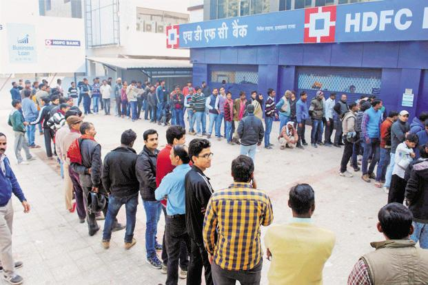 Throughout the campaign, it was found that though people were impacted by the dislocation triggered by demonetisation, they were still willing to go along with it.. Photo: PTI