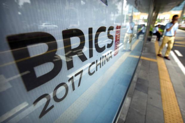 Ahead of the Brics summit, the New Development Bank (NDB) of the five nations has approved $1.4 billion loans for sustainable development projects in China, India and Russia. Photo: AP
