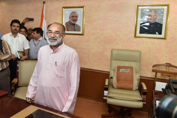 Why Alphons Kannanthanam is known as 'Demolition Man'