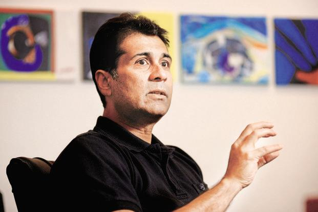 Bajaj Auto MD Rajiv Bajaj. The Bajaj-Triumph alliance will design and develop a new middleweight motorcycle to take on segment leader Royal Enfield. Photo: Abhijeet Bhatlekar/Mint