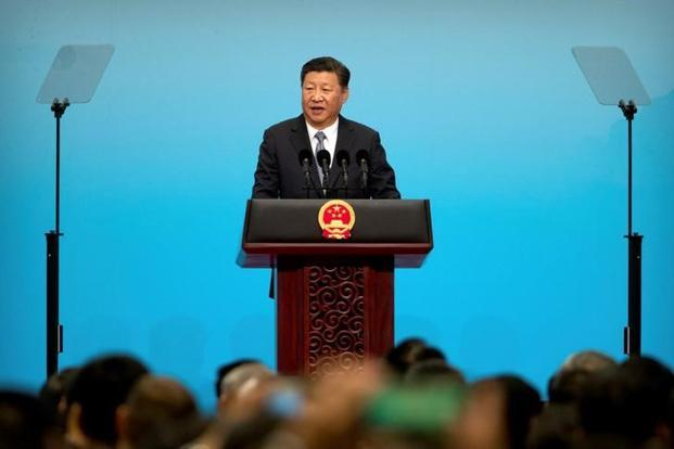 Chinese President Xi Jinping didn't mention North Korea in a speech at the Brics meeting in Xiamen. Photo: Reuters