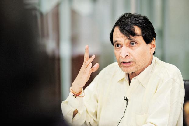 File photo. Suresh Prabhu said that the commerce ministry will work on developing global supply chain for the agriculture sector. Photo: HT