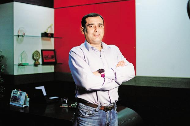 Dabur India Ltd vice-chairman Amit Burman. Zappfresh is an online meat store run by Gurugram-based DSM Fresh Foods Pvt. Ltd. Photo: Pradeep Gaur/Mint