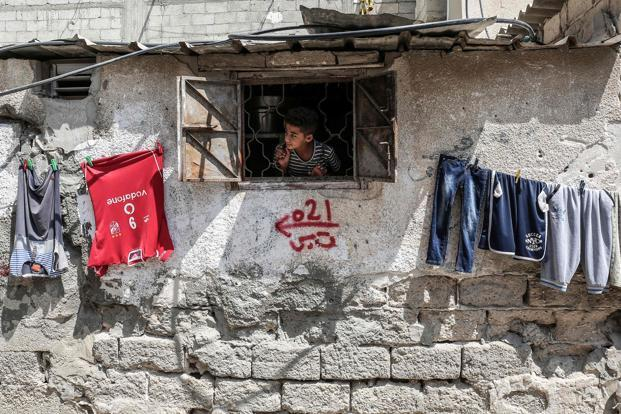 Palestinians are heavily dependent on aid, with more than two-thirds in the beleaguered Gaza Strip reliant upon it, according to the United Nations. Photo: AFP