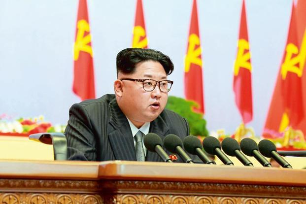 North Korean leader Kim Jong-un. Last Sunday, North Korea triggered global alarm when it blasted what it described as a hydrogen bomb designed for a long-range missile. Photo: Reuters