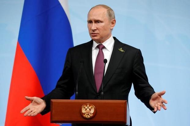Vladimir Putin said he won't respond 'for the time being' to the closing of the consulate in San Francisco. Photo: Reuters