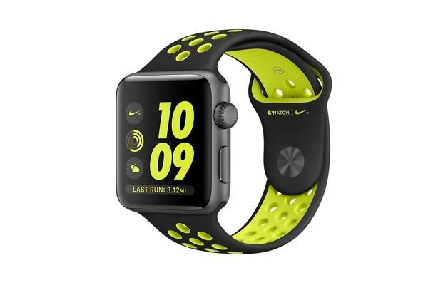 The Nike edition of Apple Watch 2 is available at a 10% discount on Amazon.in.