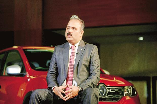 Renault India CEO Sumit Sawhney says the Renault Captur SUV will be positioned above the Renault Duster. Photo: Ramesh Pathania/Mint