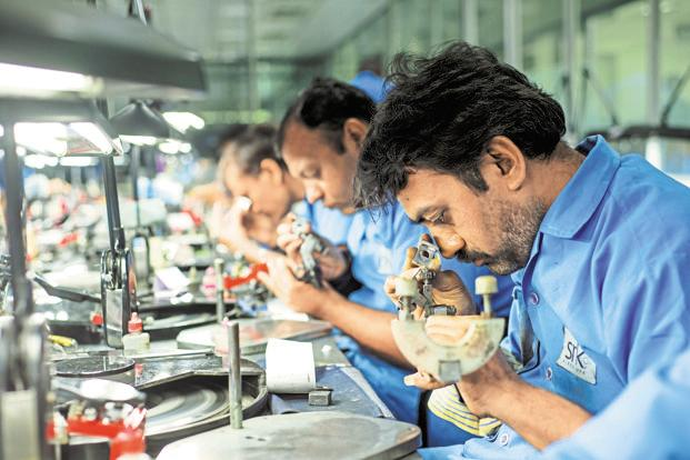 About 90% of the world's diamonds pass through India, where as many as 1 million people are employed in the industry. Photo: Aniruddha Chowdhury/Mint