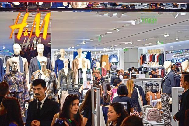 H&M has planned investments worth €100 million (Rs765 crore) in India. Photo: Mint