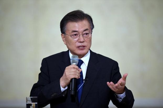 South Korean President Moon Jae-in said if we fail to stop North Korea's provocations now, it could sink into an uncontrollable situation. Photo: Reuters