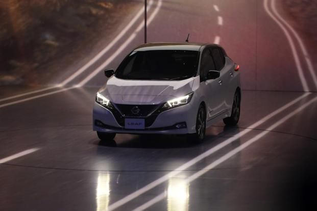 The Nissan Leaf Electric Car Can Run For 150 Miles (241km) On A Single