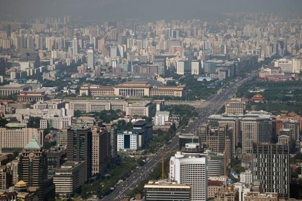 A file photo of Beijing. Growth in China's megacities—metropolitan areas with a population exceeding 10 million—has long been heavily constrained by rigid state administrative divisions and planning agencies. Photo: AFP