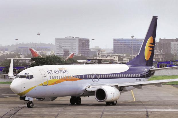Jet Airways group is facing an intense competition from the low cost carriers, which currently account for over 70% of the total domestic traffic. Photo: Abhijit Bhatlekar/Mint