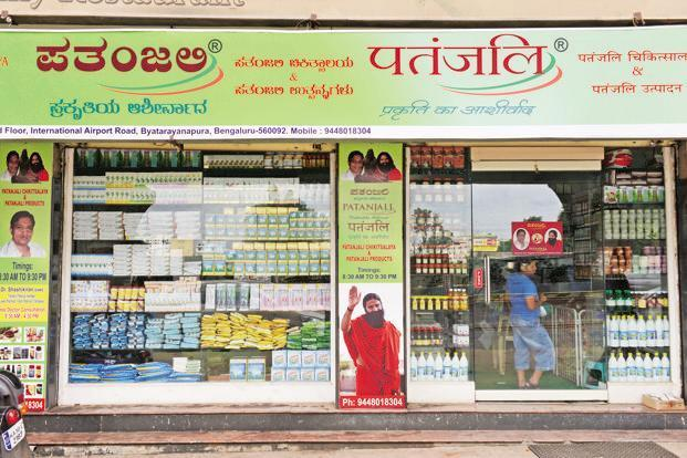 Dabur's complaint against Patanjali was about an advertisement on social media in which a bottle with a blurred trademark and name was shown. Photo: Mint