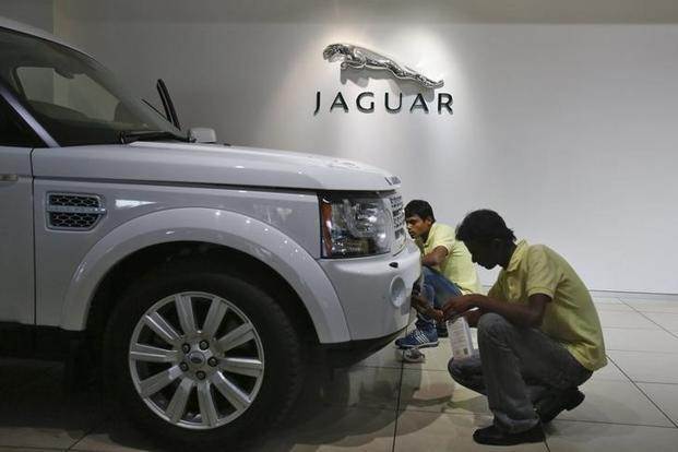 JLR shipments of new cars to dealers in the area were halted earlier this week ahead of the storm Irma. Photo: Reuters
