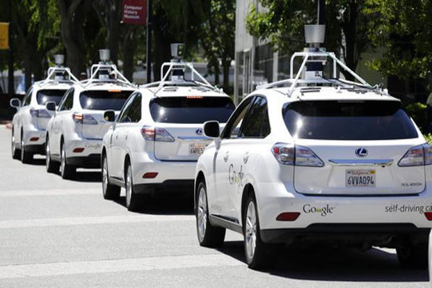 If you believe the optimists, self-driving cars will dominate our roads within a couple decades. Photo: AP