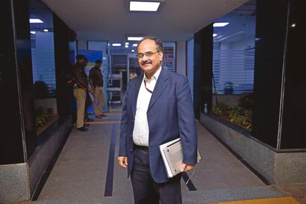 GSTN's interim chairman A.B. Pandey. The government has constituted a search panel for a new GSTN chairman comprising senior officials from the department of revenue. Photo: Pradeep Gaur/Mint